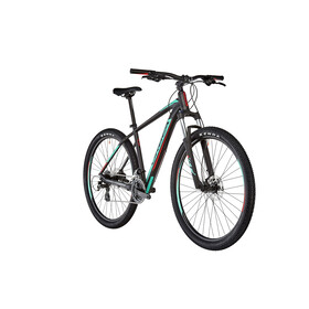 "ORBEA MX 50 29"" Black-Turquoise-Red"
